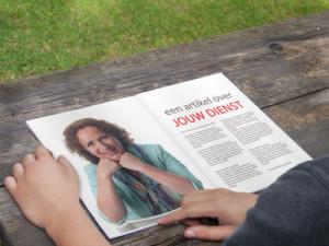 tijdschrift met jouw nieuws