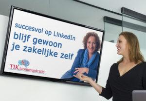 Effectief op LinkedIn? Blijf je zakelijke zelf!