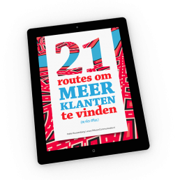 Afbeelding e-book 21 routes om meer klanten te vinden